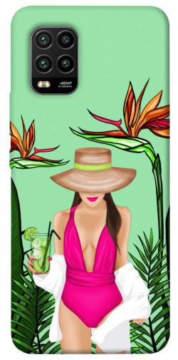 Чехол itsPrint Tropical girl для Xiaomi Mi 10 Lite