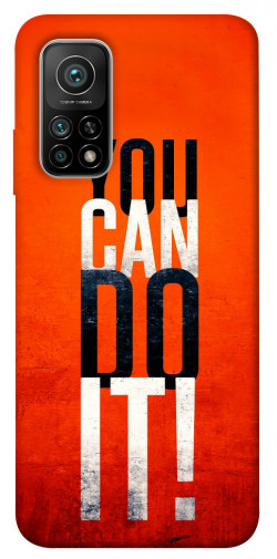 Чехол itsPrint You can do it для Xiaomi Mi 10T