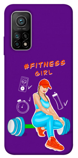 Чехол itsPrint Fitness girl для Xiaomi Mi 10T Pro
