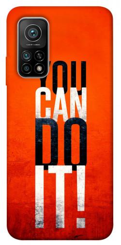 Чехол itsPrint You can do it для Xiaomi Mi 10T Pro