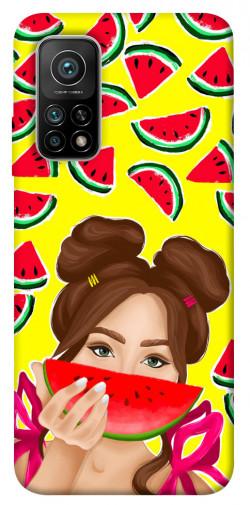 Чехол itsPrint Watermelon girl для Xiaomi Mi 10T Pro
