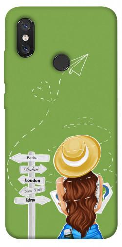 Чехол itsPrint Travel girl для Xiaomi Mi 8