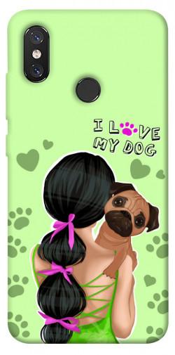 Чехол itsPrint Love my dog для Xiaomi Mi 8