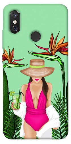 Чехол itsPrint Tropical girl для Xiaomi Mi 8