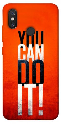 Чехол itsPrint You can do it для Xiaomi Mi 8