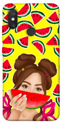 Чехол itsPrint Watermelon girl для Xiaomi Mi 8