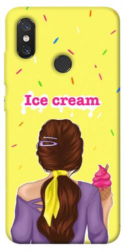 Чехол itsPrint Ice cream girl для Xiaomi Mi 8