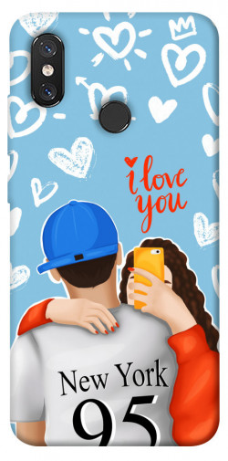 Чехол itsPrint Forever end ever для Xiaomi Mi 8