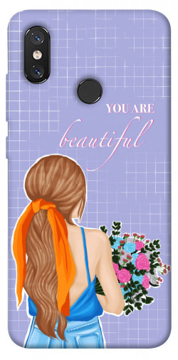 Чехол itsPrint You are beautiful для Xiaomi Mi 8