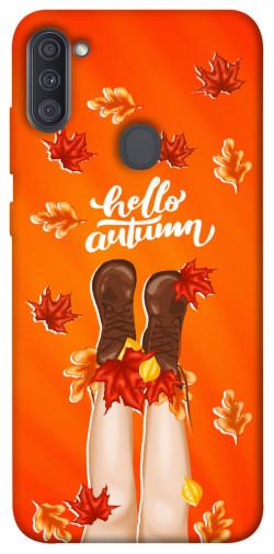 Чехол itsPrint Hello autumn для Samsung Galaxy A11