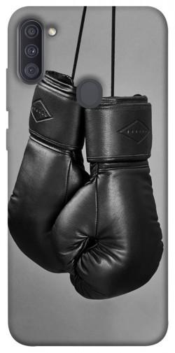 Чехол itsPrint Черные боксерские перчатки для Samsung Galaxy A11