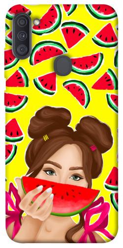 Чехол itsPrint Watermelon girl для Samsung Galaxy A11