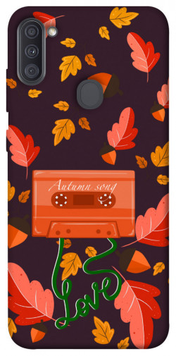Чехол itsPrint Autumn sound для Samsung Galaxy A11