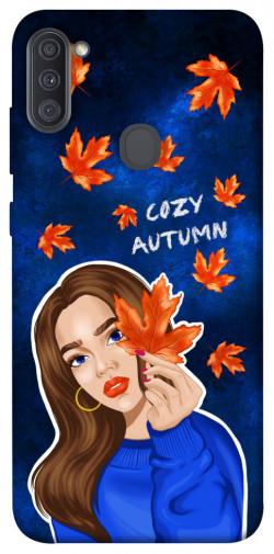 Чехол itsPrint Cozy autumn для Samsung Galaxy A11