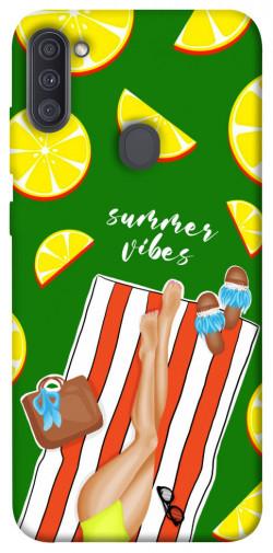 Чехол itsPrint Summer girl для Samsung Galaxy A11
