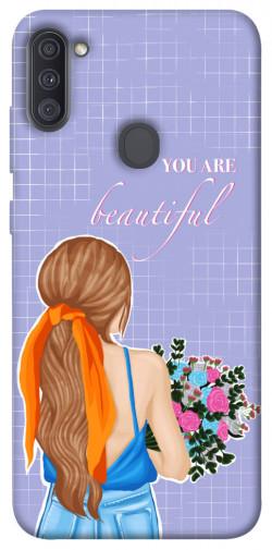 Чехол itsPrint You are beautiful для Samsung Galaxy A11