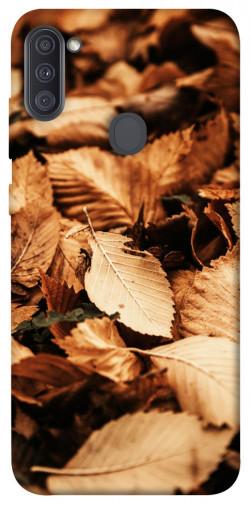 Чехол itsPrint Опавшая листва для Samsung Galaxy A11