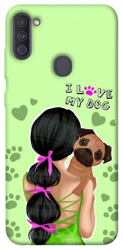 Чехол itsPrint Love my dog для Samsung Galaxy A11