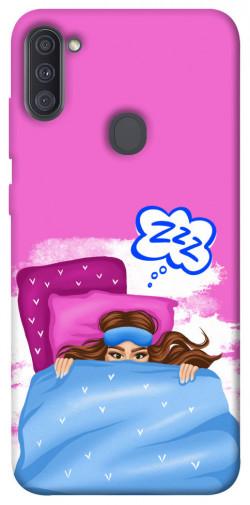 Чехол itsPrint Sleepу girl для Samsung Galaxy A11