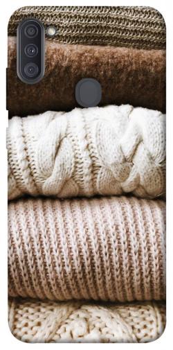 Чехол itsPrint Knitted aesthetics для Samsung Galaxy A11