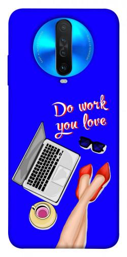 Чехол itsPrint Do work you love для Xiaomi Redmi K30
