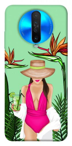 Чехол itsPrint Tropical girl для Xiaomi Redmi K30