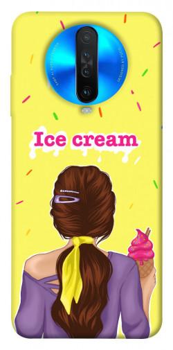 Чехол itsPrint Ice cream girl для Xiaomi Redmi K30