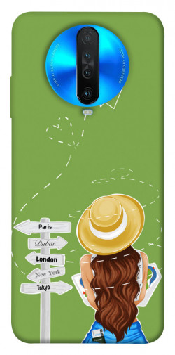 Чехол itsPrint Travel girl для Xiaomi Redmi K30