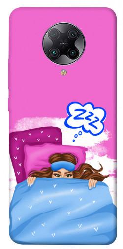 Чехол itsPrint Sleepу girl для Xiaomi Redmi K30 Pro / Poco F2 Pro