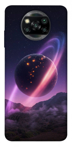 Чехол itsPrint Сатурн для Xiaomi Poco X3 NFC