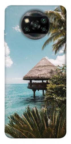 Чехол itsPrint Тропический остров для Xiaomi Poco X3 NFC