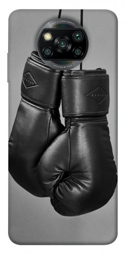 Чехол itsPrint Черные боксерские перчатки для Xiaomi Poco X3 NFC