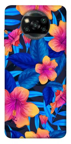 Чехол itsPrint Цветочная композиция для Xiaomi Poco X3 NFC