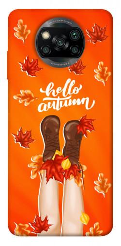 Чехол itsPrint Hello autumn для Xiaomi Poco X3 NFC