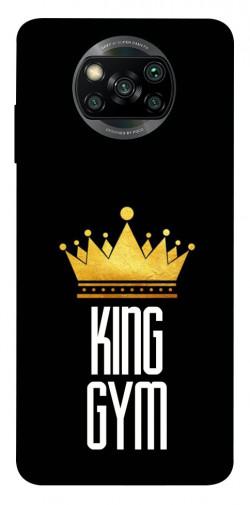 Чехол itsPrint King gym для Xiaomi Poco X3 NFC
