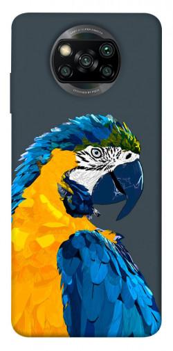 Чехол itsPrint Попугай для Xiaomi Poco X3 NFC