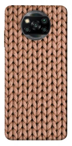 Чехол itsPrint Knitted texture для Xiaomi Poco X3 NFC