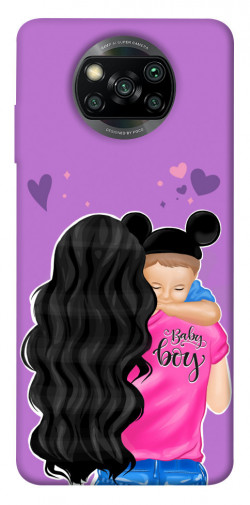 Чехол itsPrint Baby boy для Xiaomi Poco X3 NFC