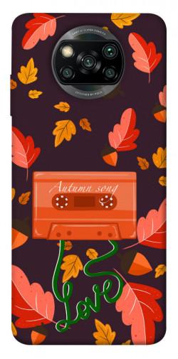 Чехол itsPrint Autumn sound для Xiaomi Poco X3 NFC