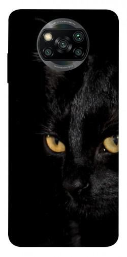 Чехол itsPrint Черный кот для Xiaomi Poco X3 NFC