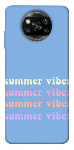 Чехол itsPrint Summer vibes для Xiaomi Poco X3 NFC
