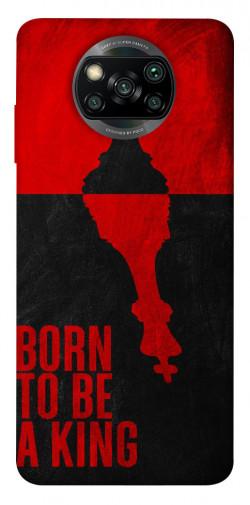 Чехол itsPrint Born to be a king для Xiaomi Poco X3 NFC