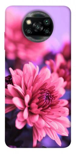 Чехол itsPrint Нежная хризантема для Xiaomi Poco X3 NFC