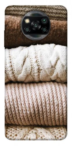 Чехол itsPrint Knitted aesthetics для Xiaomi Poco X3 NFC