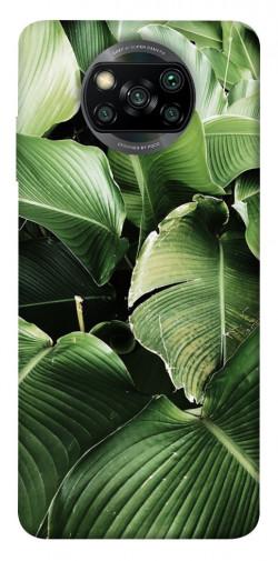 Чехол itsPrint Тропическая листва для Xiaomi Poco X3 NFC