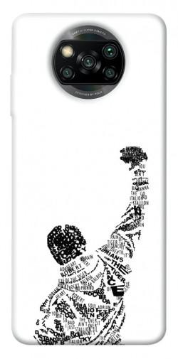 Чехол itsPrint Rocky man для Xiaomi Poco X3 NFC