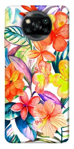 Чехол itsPrint Цветочный коктейль для Xiaomi Poco X3 NFC