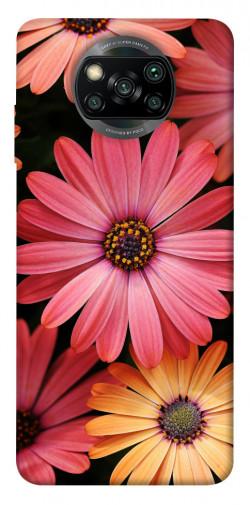 Чехол itsPrint Осенние цветы для Xiaomi Poco X3 NFC