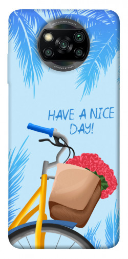 Чехол itsPrint Have a nice day для Xiaomi Poco X3 NFC