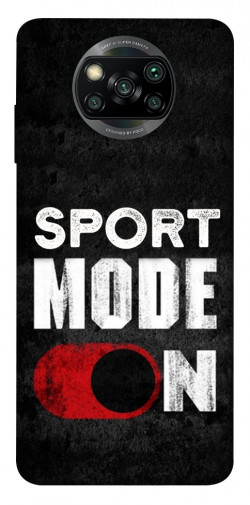 Чехол itsPrint Sport mode on для Xiaomi Poco X3 NFC